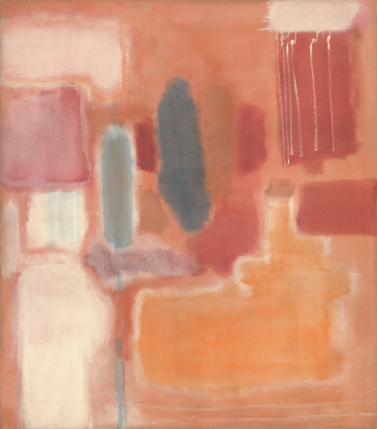 Mark Rothko, No. 9 (1948). Oil and mixed media on canvas, overall: 134.7 x 118.4 cm. National Gallery of Art, Washington.