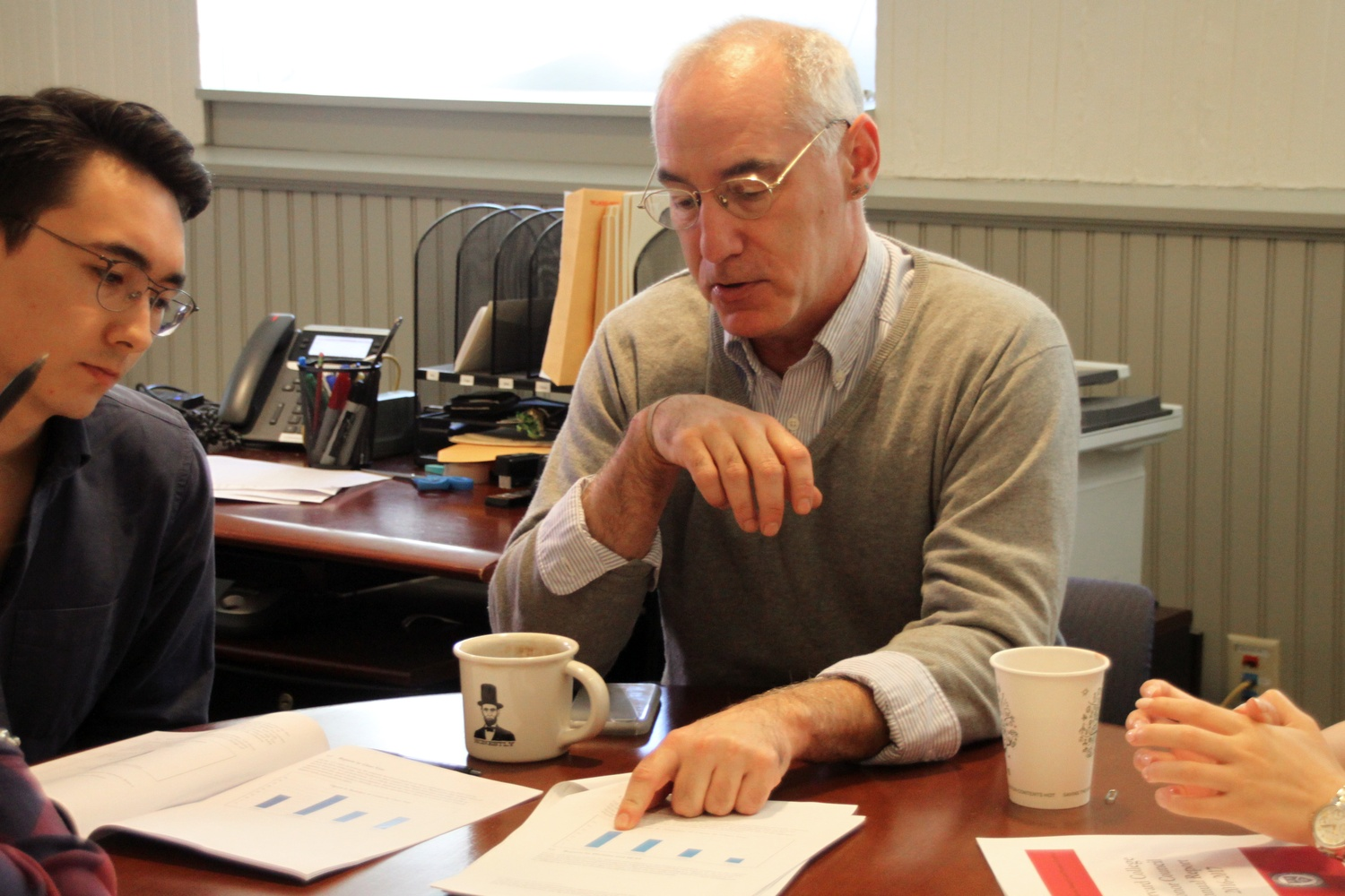 Brett Flehinger, Harvard College's associate dean for academic integrity and student conduct, pictured here in 2017.