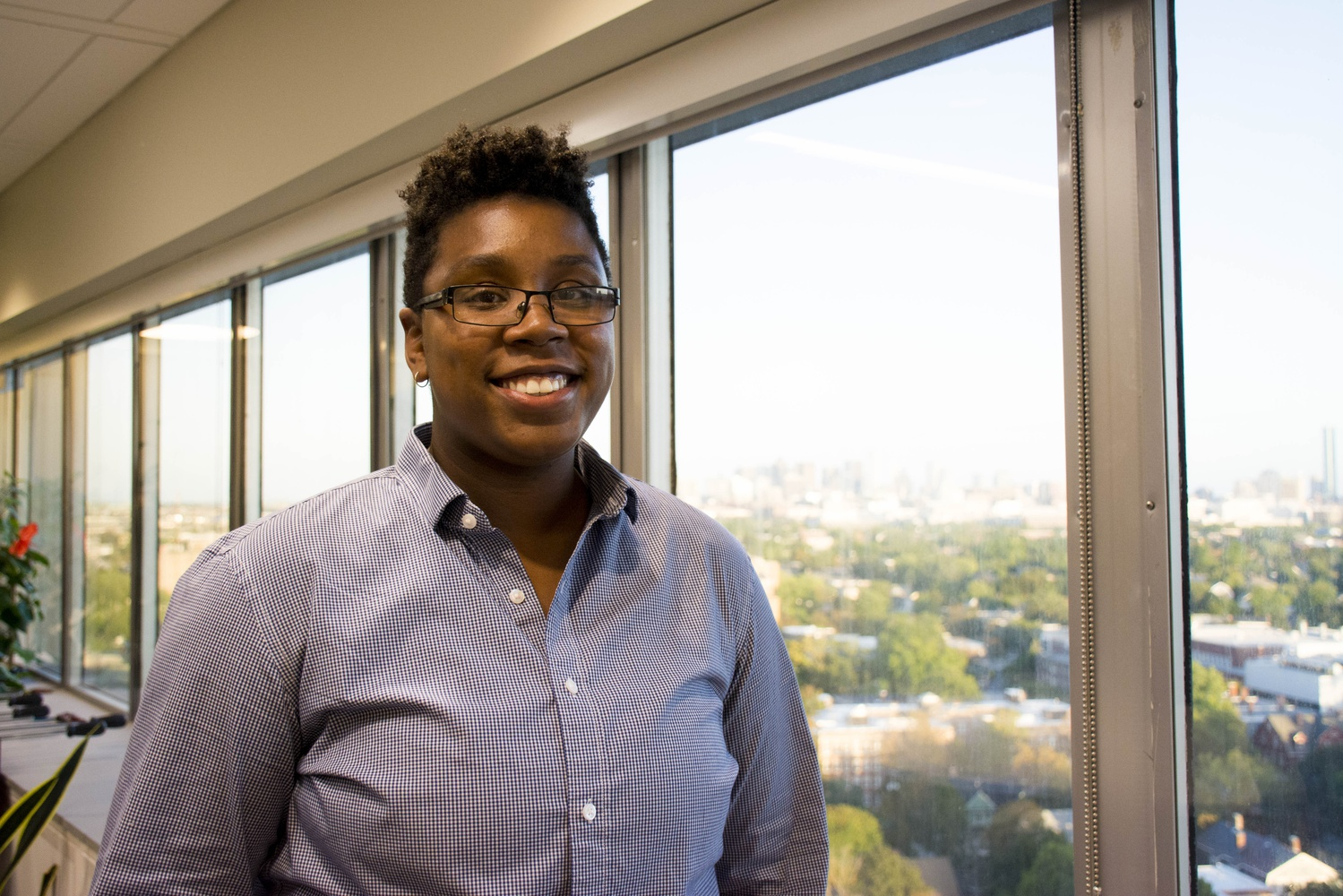 Sa-Kiera Hudson, the Freshman Dean's Office First-Generation and Low-Income Student Advocate.