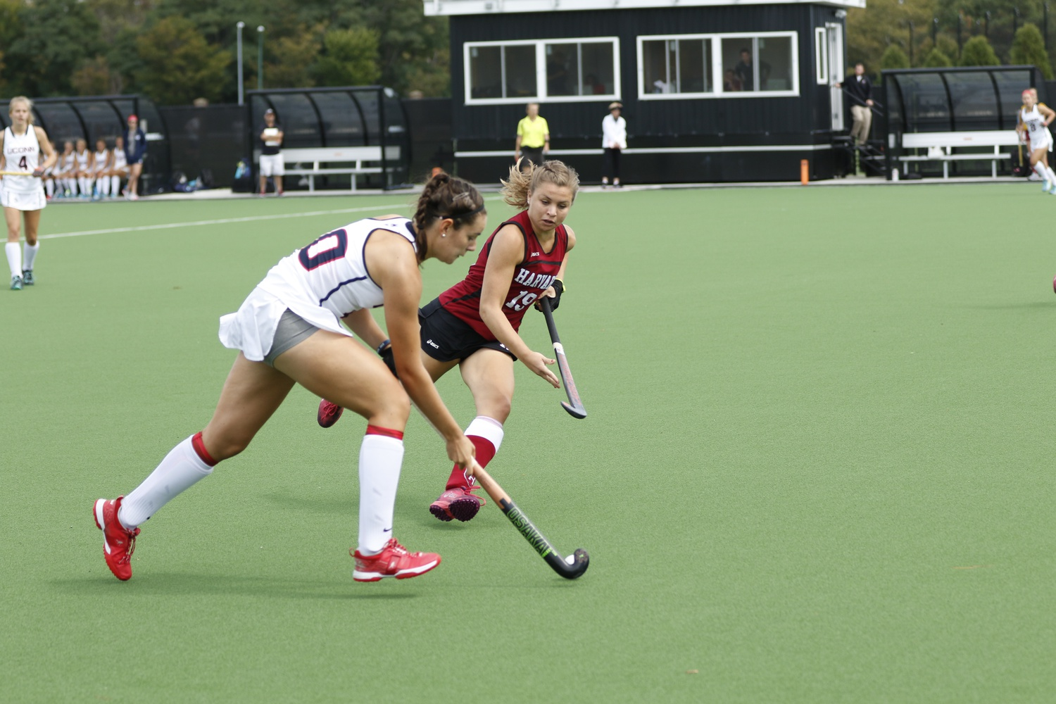 The field hockey team felt the loss of its leading scorer Kathleen Young this weekend, but still managed to overcome Cornell in overtime.