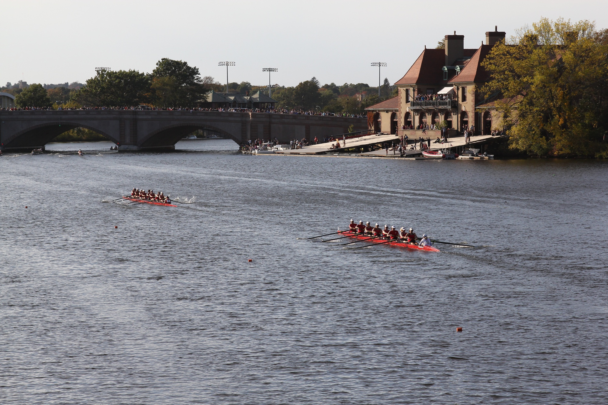 Both of Harvard's lightweight teams earned bronze medals in one of their races, the teams' best results of the weekend.