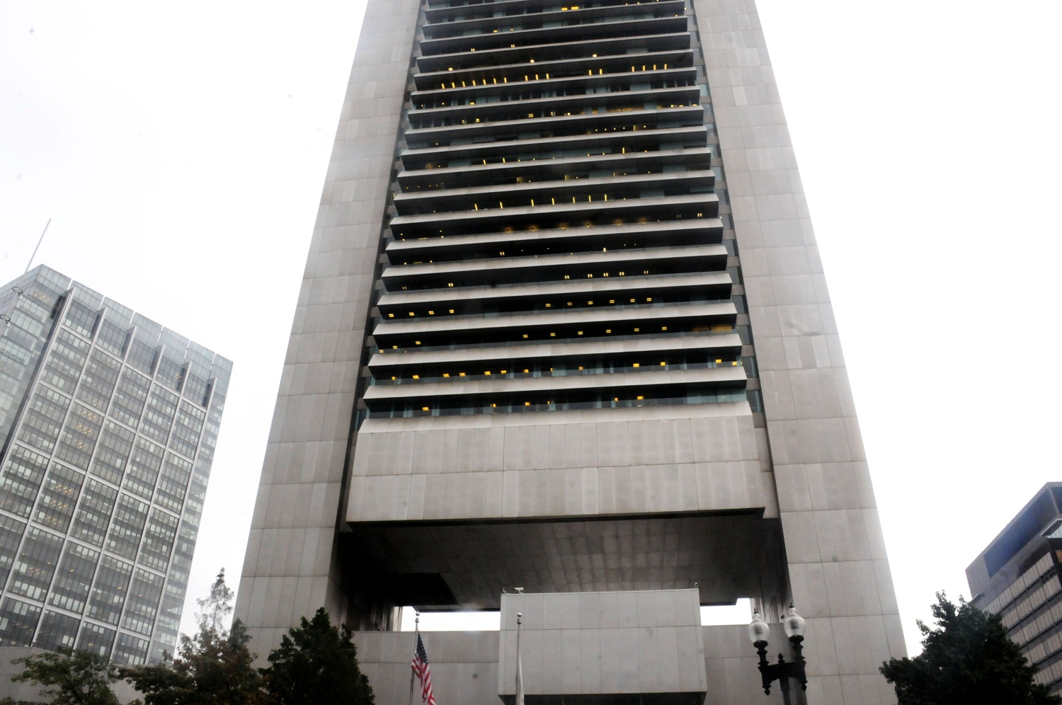 Harvard Management Company is housed in the Boston Federal Reserve Building.