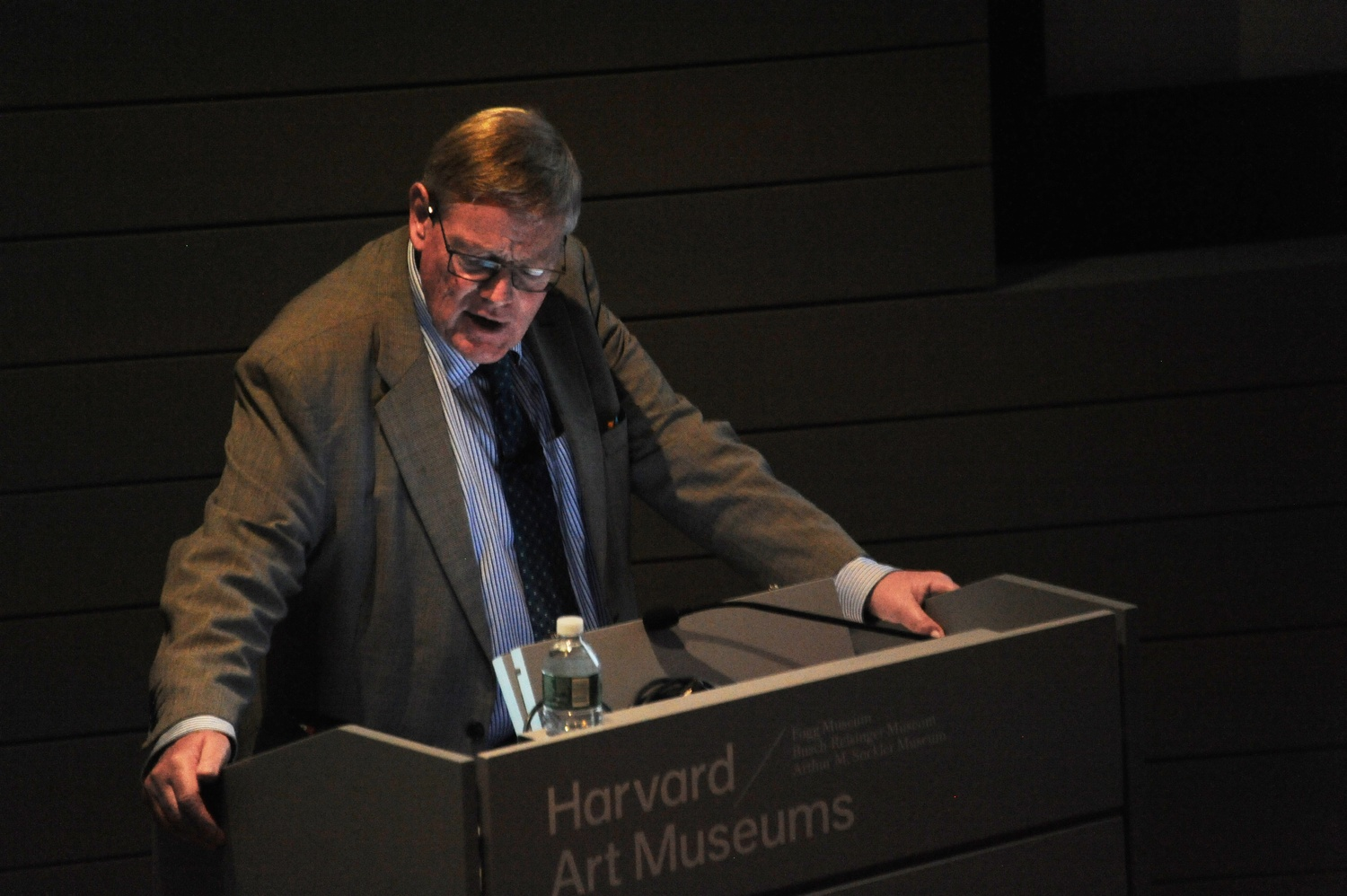 Roger Bland, former Keeper of Coins at the British Museum, speaks on Roman coin finds in Britain Thursday evening at the Harvard Art Museums.