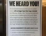 Lamont Bag Check Poster
