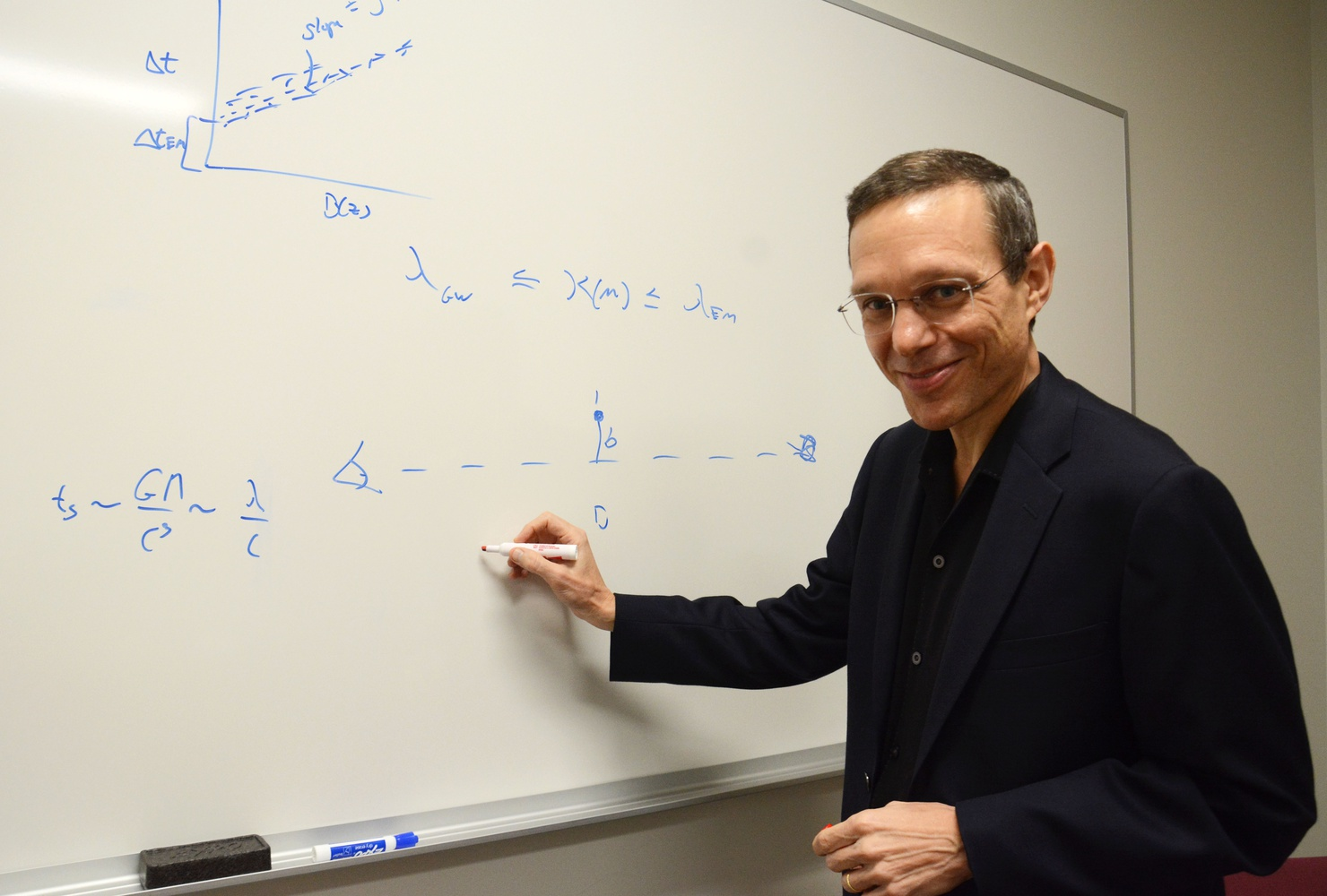 Professor Avi Loeb, chair of the Astronomy Department at Harvard, founded the Black Hole Initiative.