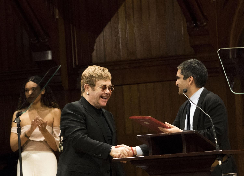 Elton and Rakesh