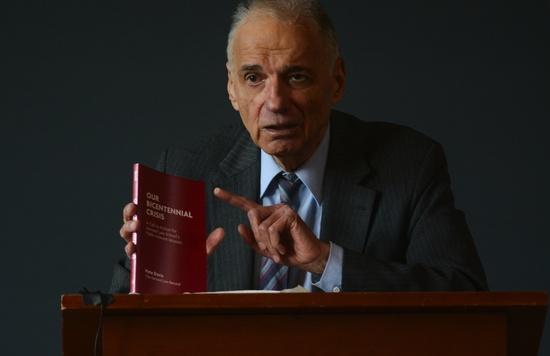Ralph Nader: A Critical Guest