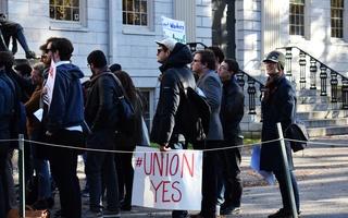 Graduate Student Union Rally
