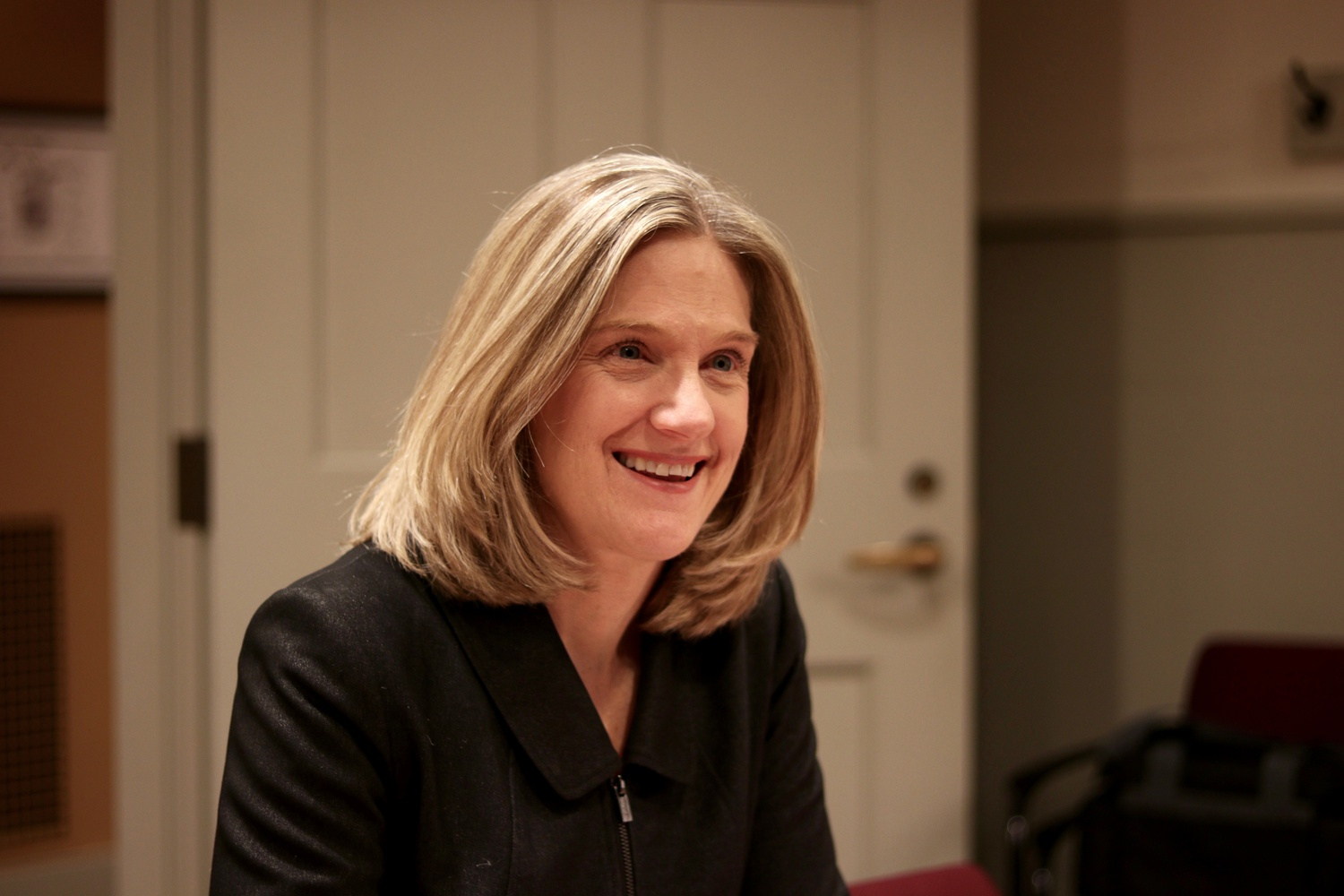 Dean of Students Katherine G. O'Dair, pictured here in 2017, is overseeing the search for an associate dean of students for inclusion and belonging.