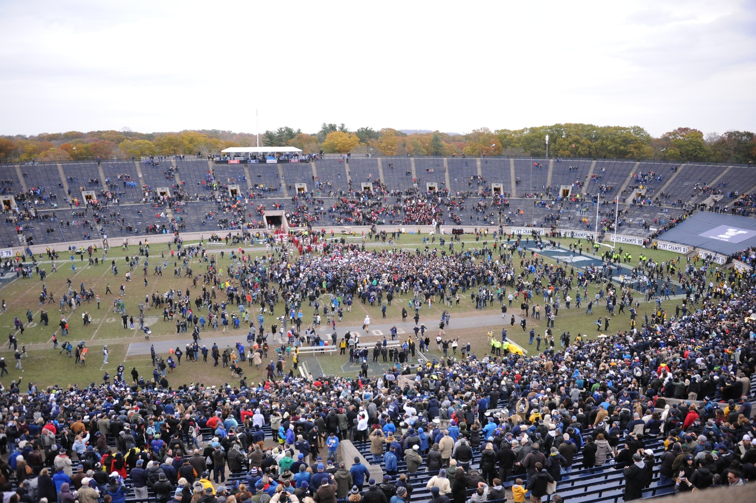 Storm in a Yale Bowl