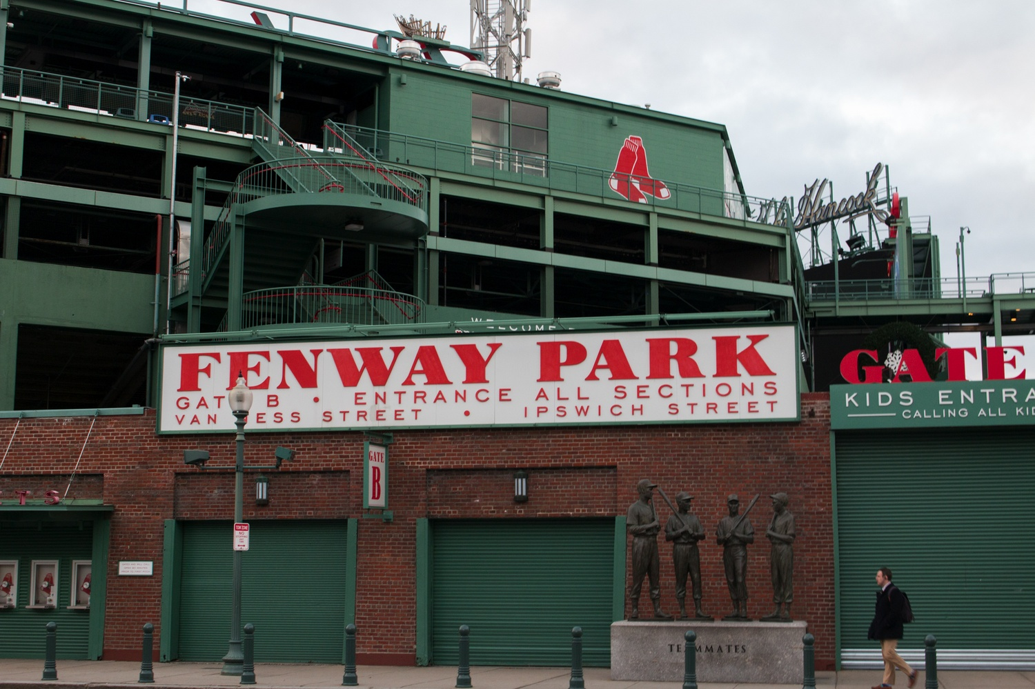 Fenway Park, home of the Boston Red Sox, will host the 135th Harvard-Yale Game this year.