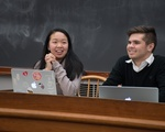 UC President Zhang and Vice-President Boucher