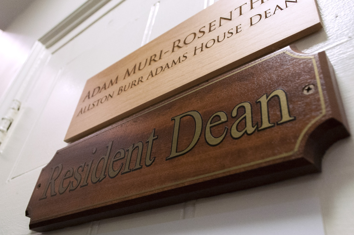 For the fourth time in a little over a decade, the College has made a change to the official title of House resident deans.