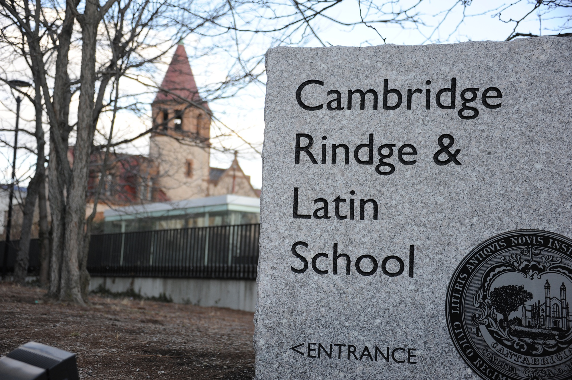 Cambridge Rindge and Latin School is the only traditional public high school in the Cambridge School District.