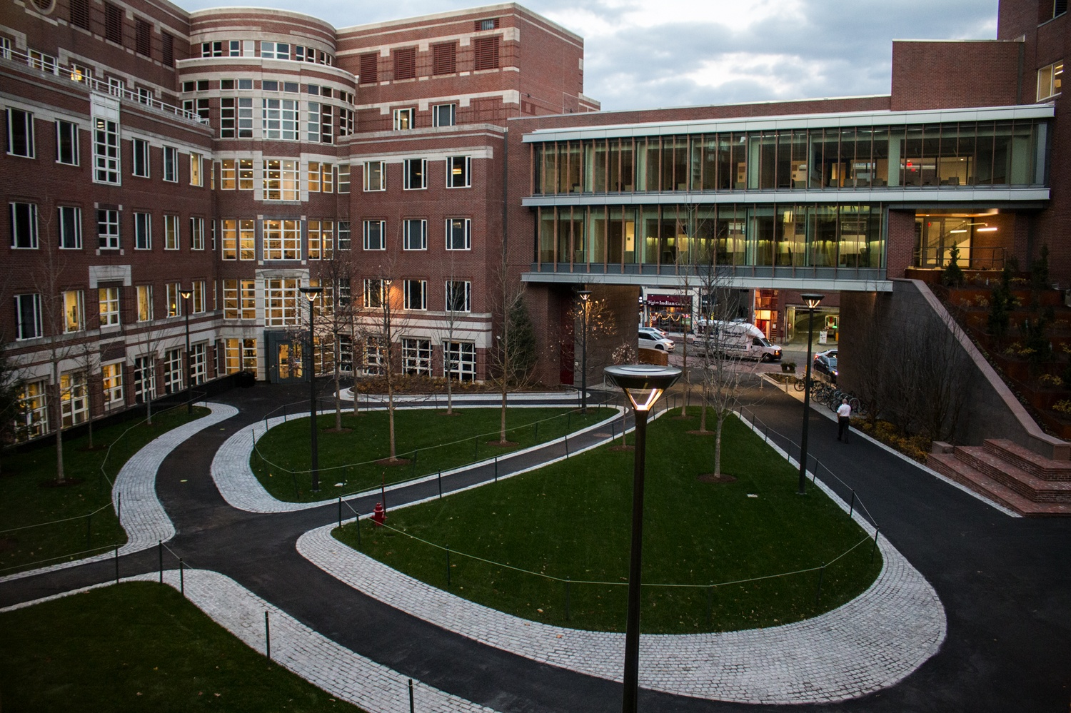 The Harvard Kennedy School, pictured in December 2017.