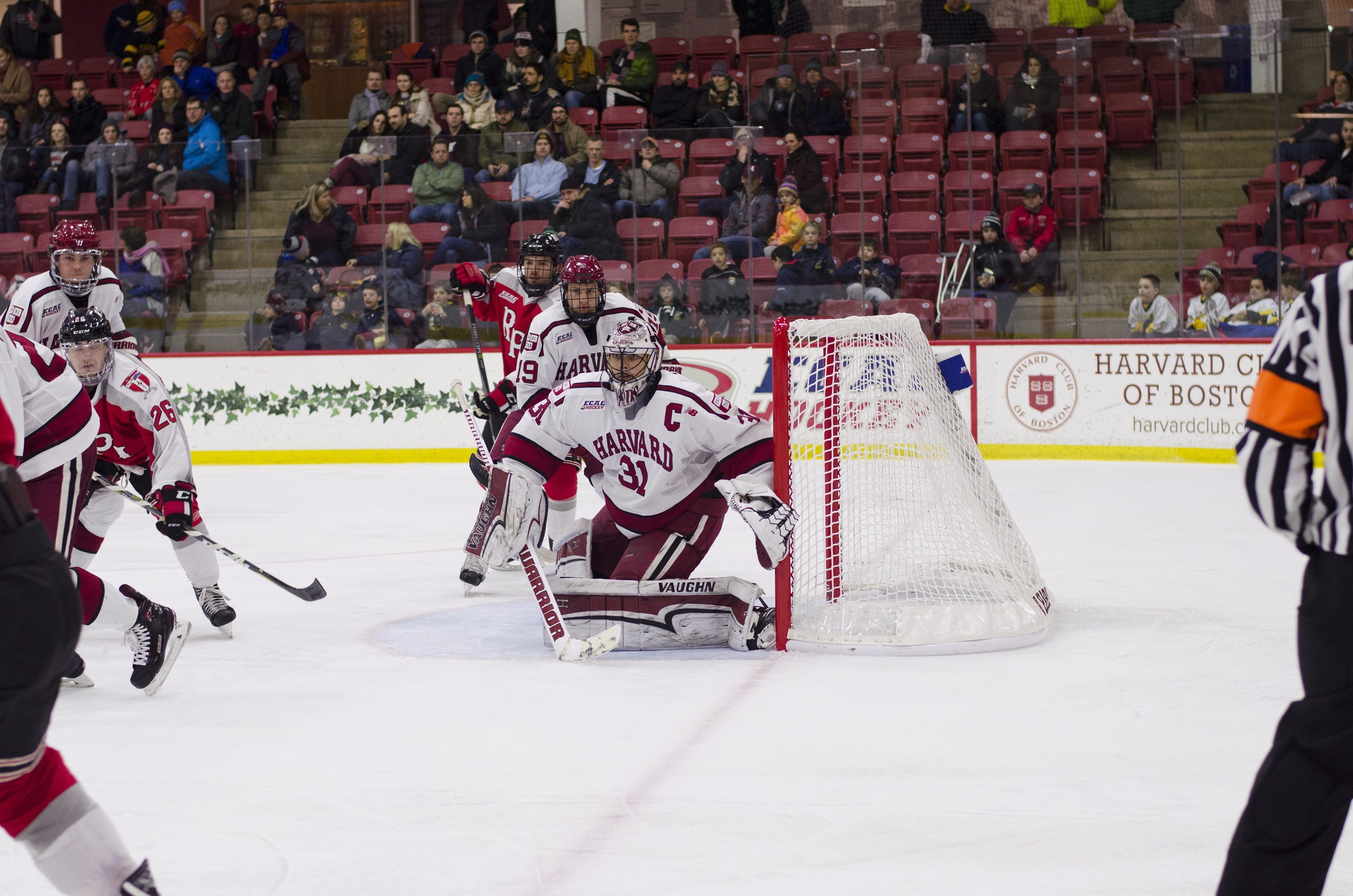 Tri-captain Merrick Madsen put forth a stingy night between the pipes on Friday, holding RPI goal-less and earning his 10th career clean sheet.