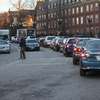 Harvard Square Traffic