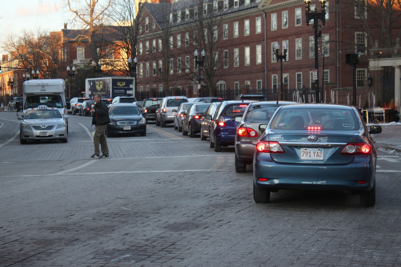 Harvard Square Traffic