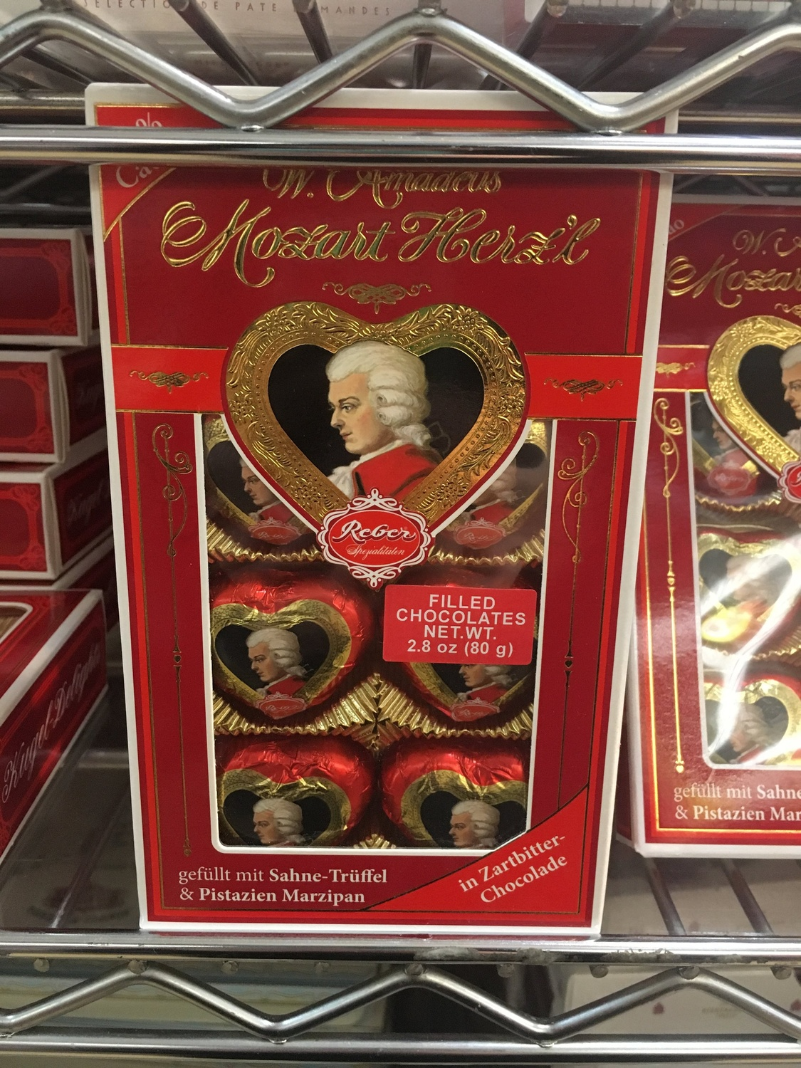 Mozart Loves Chocolate