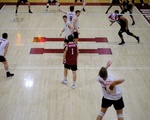 Mens Volleyball Serving