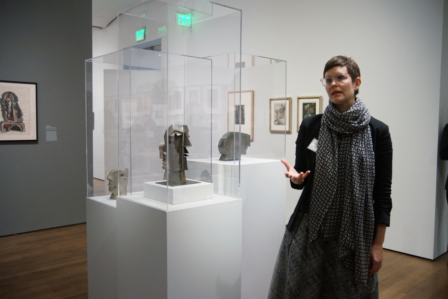 Busch-Reisinger Museum curator Lynette Roth presents her newly curated exhibition titled Inventur: Art in Germany, 1943–55.