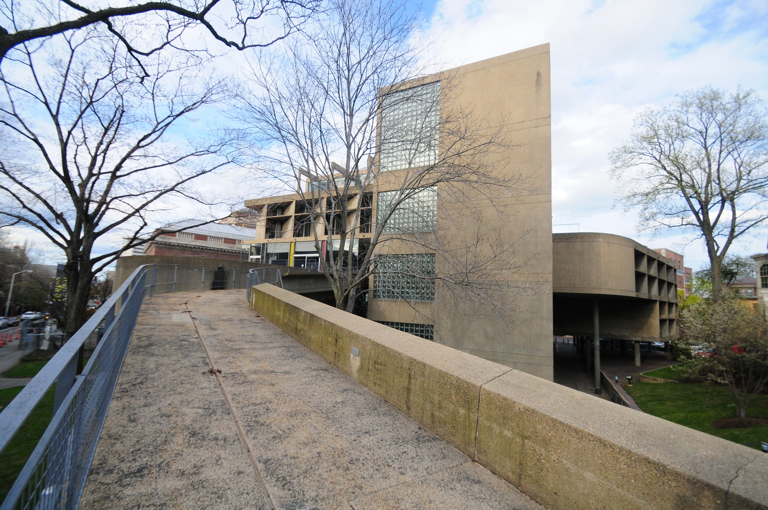The Department of Visual and Environmental Studies resides within the Carpenter Center for the Visual Arts.