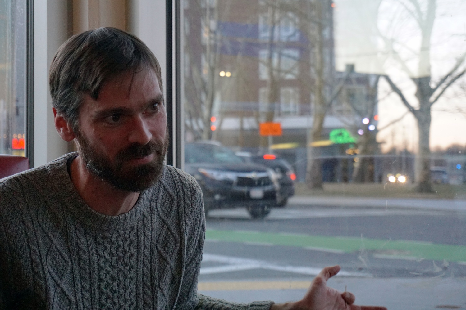 Galen M. Mook is an Allston transit advocate and bike store proprietor.