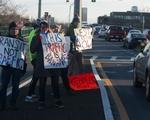 Transit Protest - Street