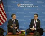 David Miliband at the IOP