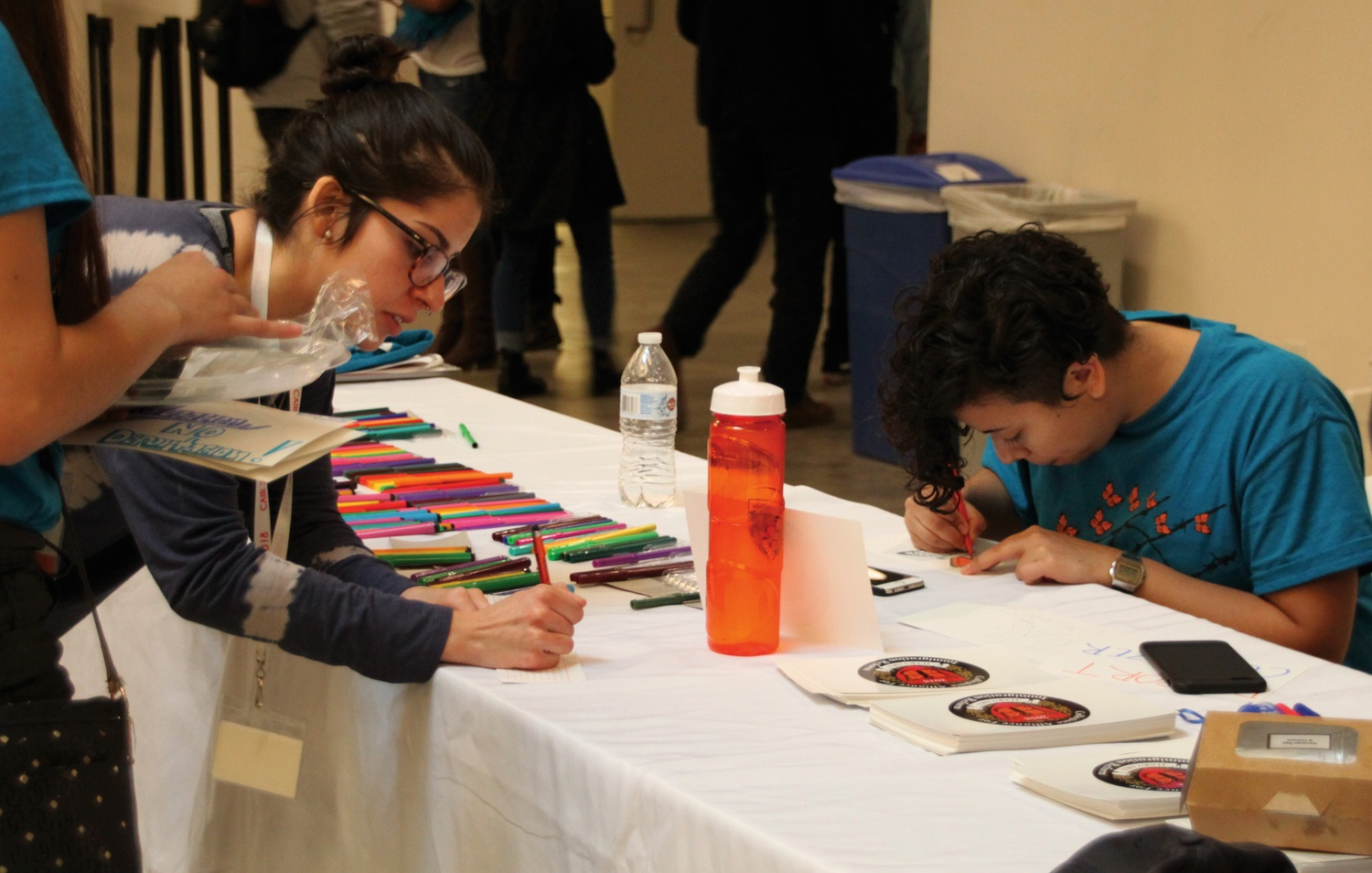 Harvard's Act on a Dream hosts the Collegiate Alliance for Immigration Reform (CAIR) in Northwest Bio Labs this weekend. The conference featured a variety of events including artistic expression led by Karla C. Mendoza '18.