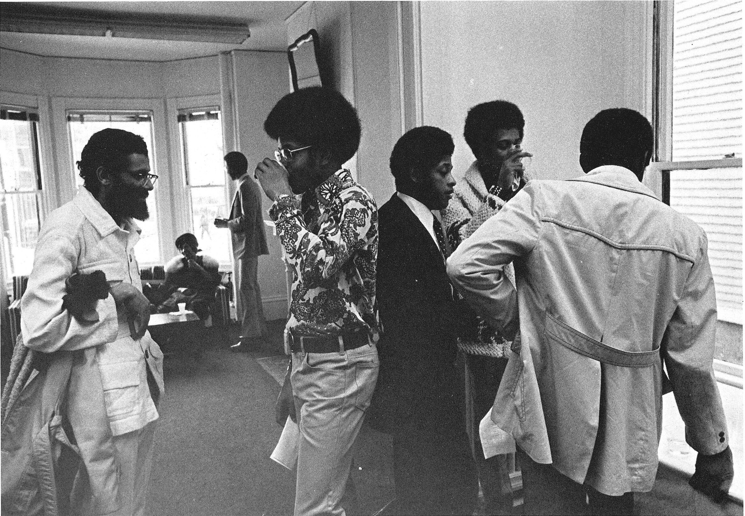 A photo from a 1975 yearbook compilation on black community life.