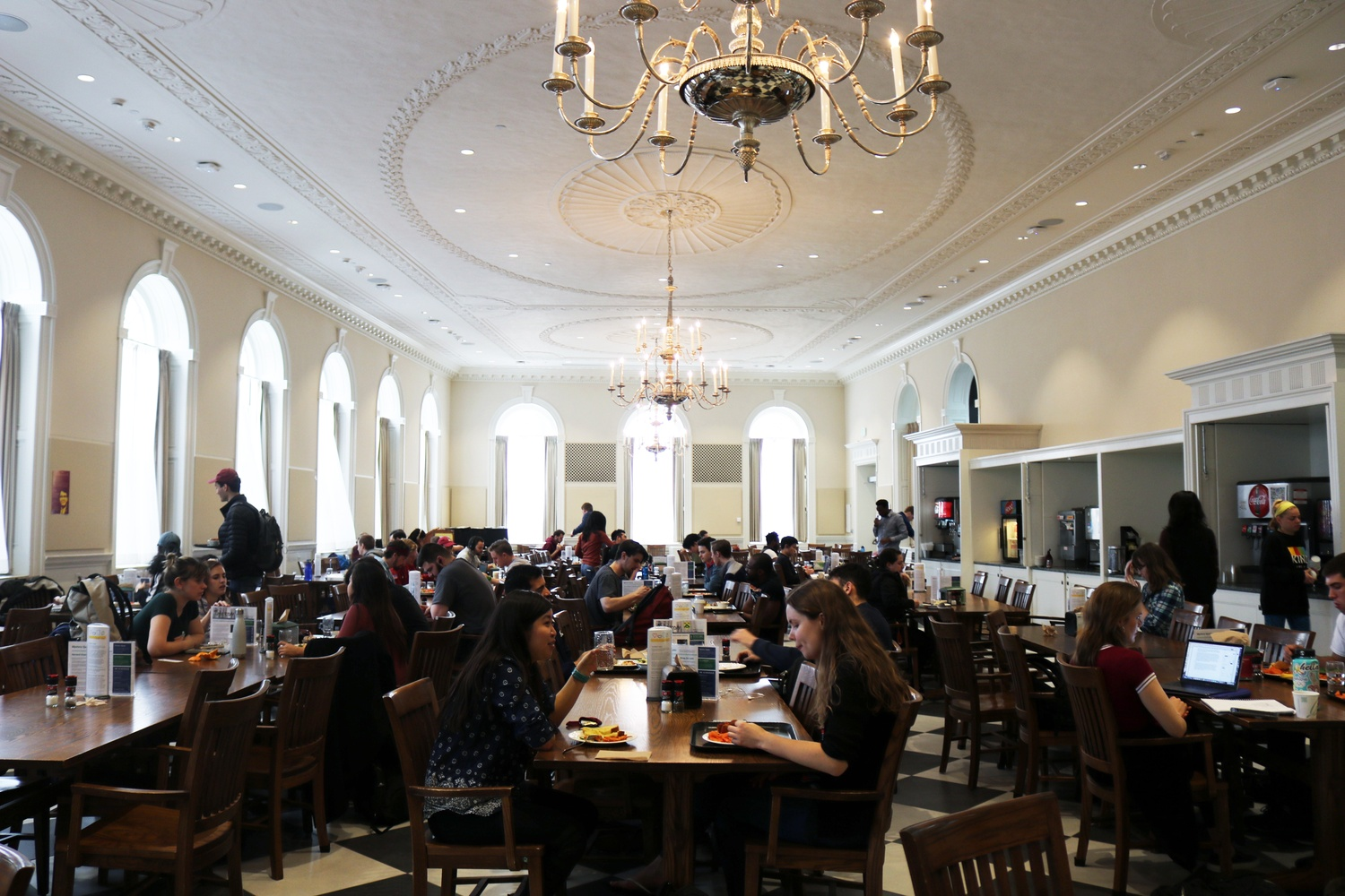 Leverett Dining Hall