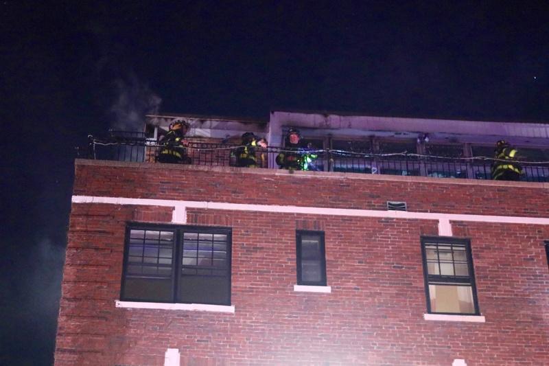 Follen Street Fire