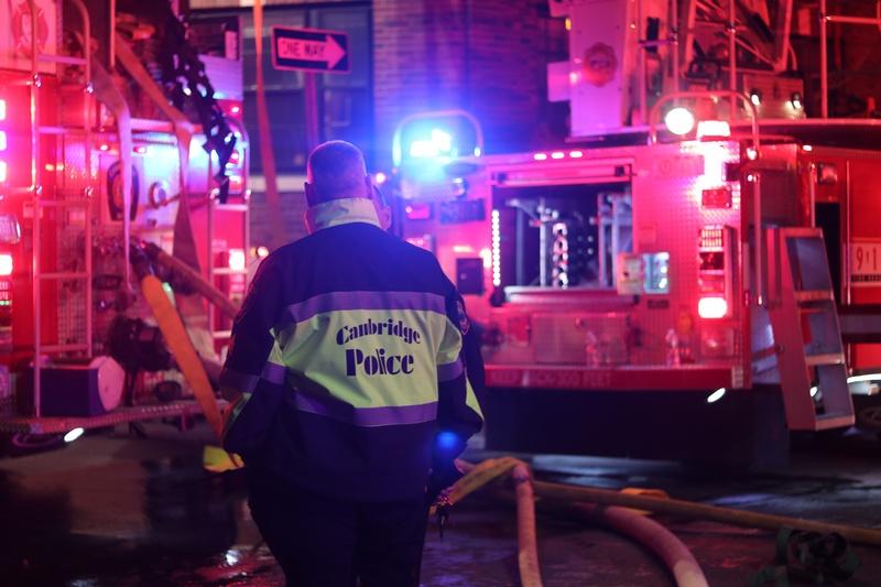 Fire on Follen Street