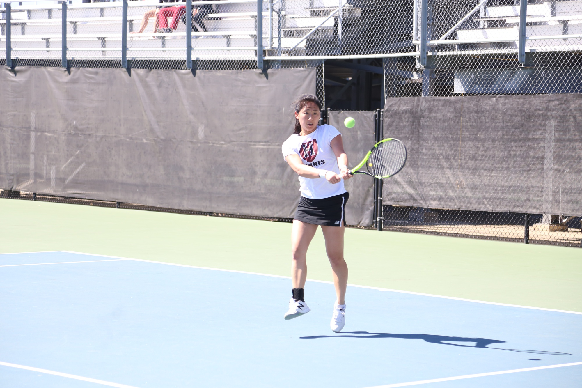 Harvard women's tennis sits at 4-7 this spring. The team has won two of its five home matches.