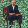 Barack Obama Presidential Portrait
