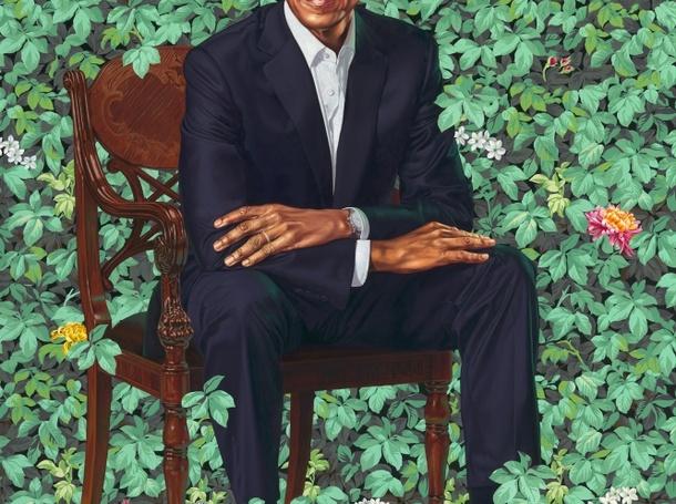 Barack Obama Presidential Portrait