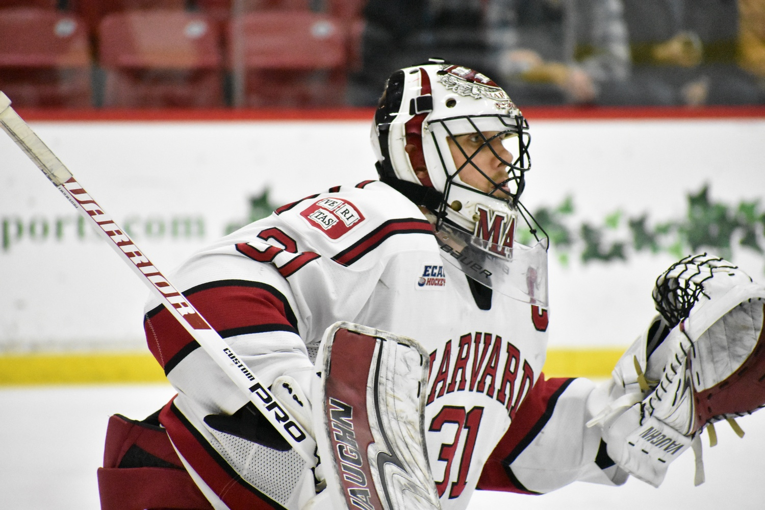Tri-captain net-minder Merrick Madsen looked himself again in Game 2, finishing the game with a .955 save percentage that more closely resembles his stellar regular season play against Dartmouth.