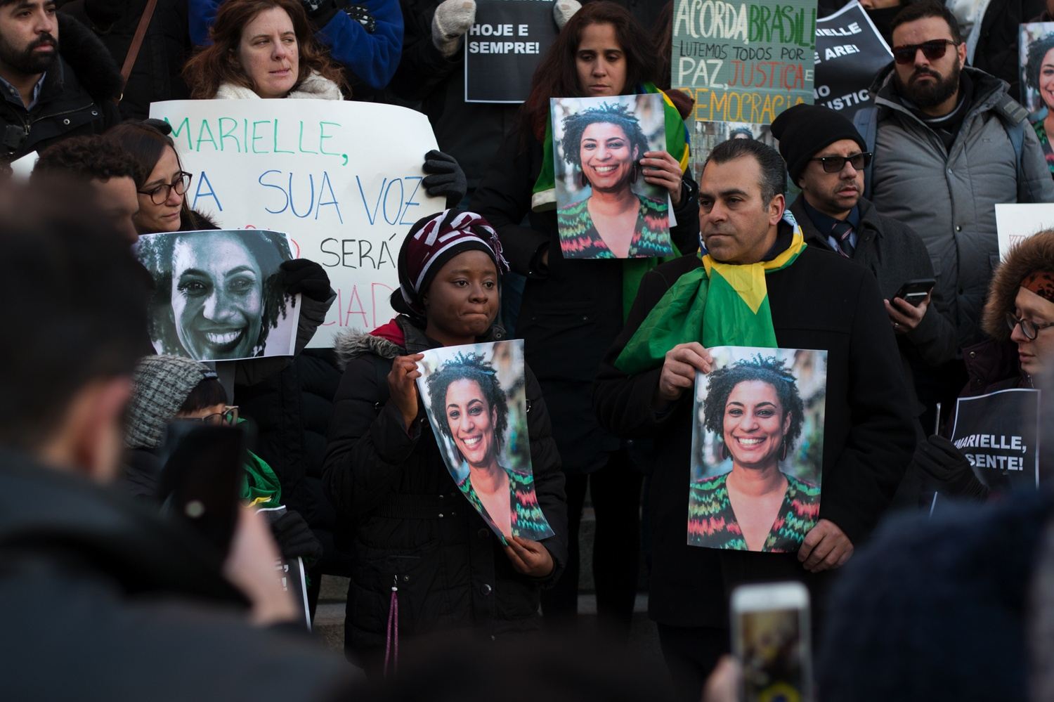 Image result for marielle Franco protests