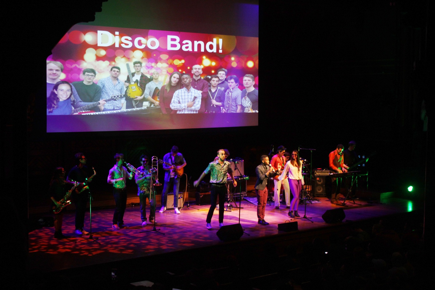 Disco Band! won a spot as an opening act at Yardfest after performing at the Battle for Yardfest on Thursday night.