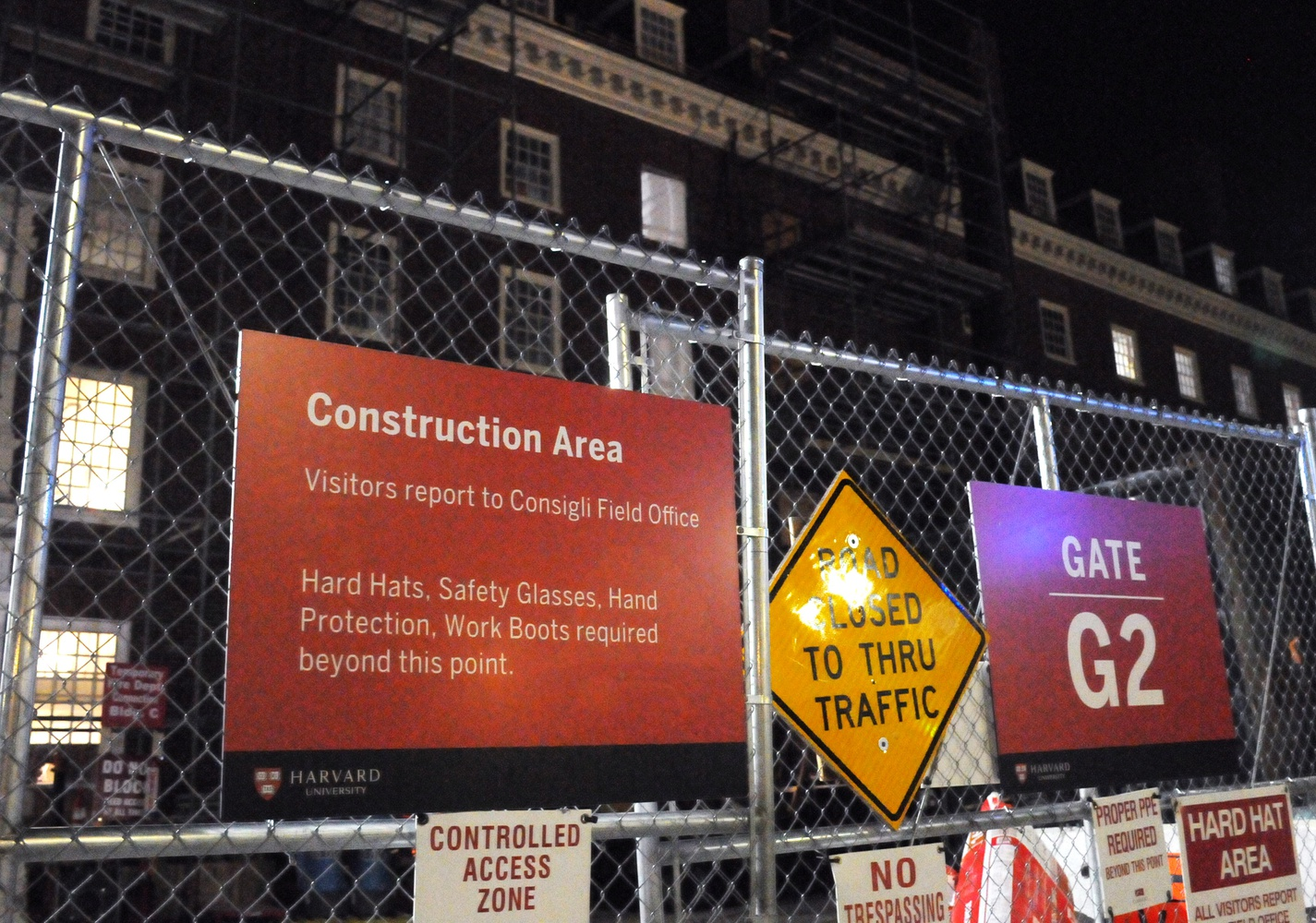 Lowell House is expected to be under construction until the fall of 2019, so in the meantime its residents have been relocated to the Inn and other ancillary buildings.