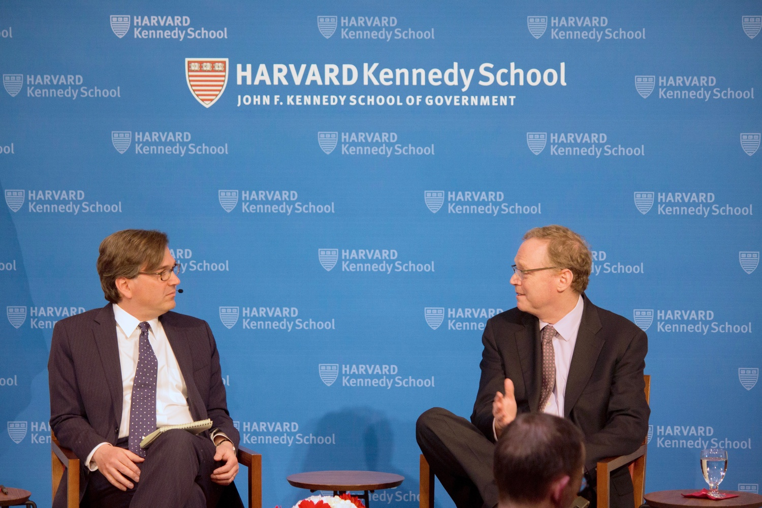 Kevin Hassett, the current Chairman of the White House Council of Economic Advisers, spoke at the JFK Jr. Forum Thursday evening.