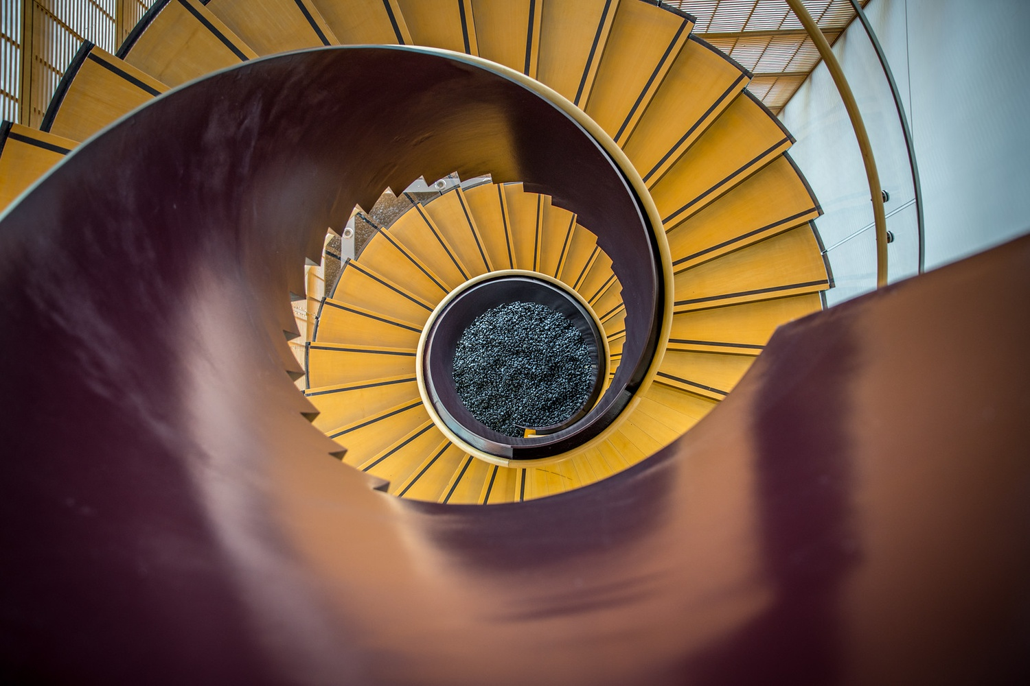 Spiral Staircase in CGIS