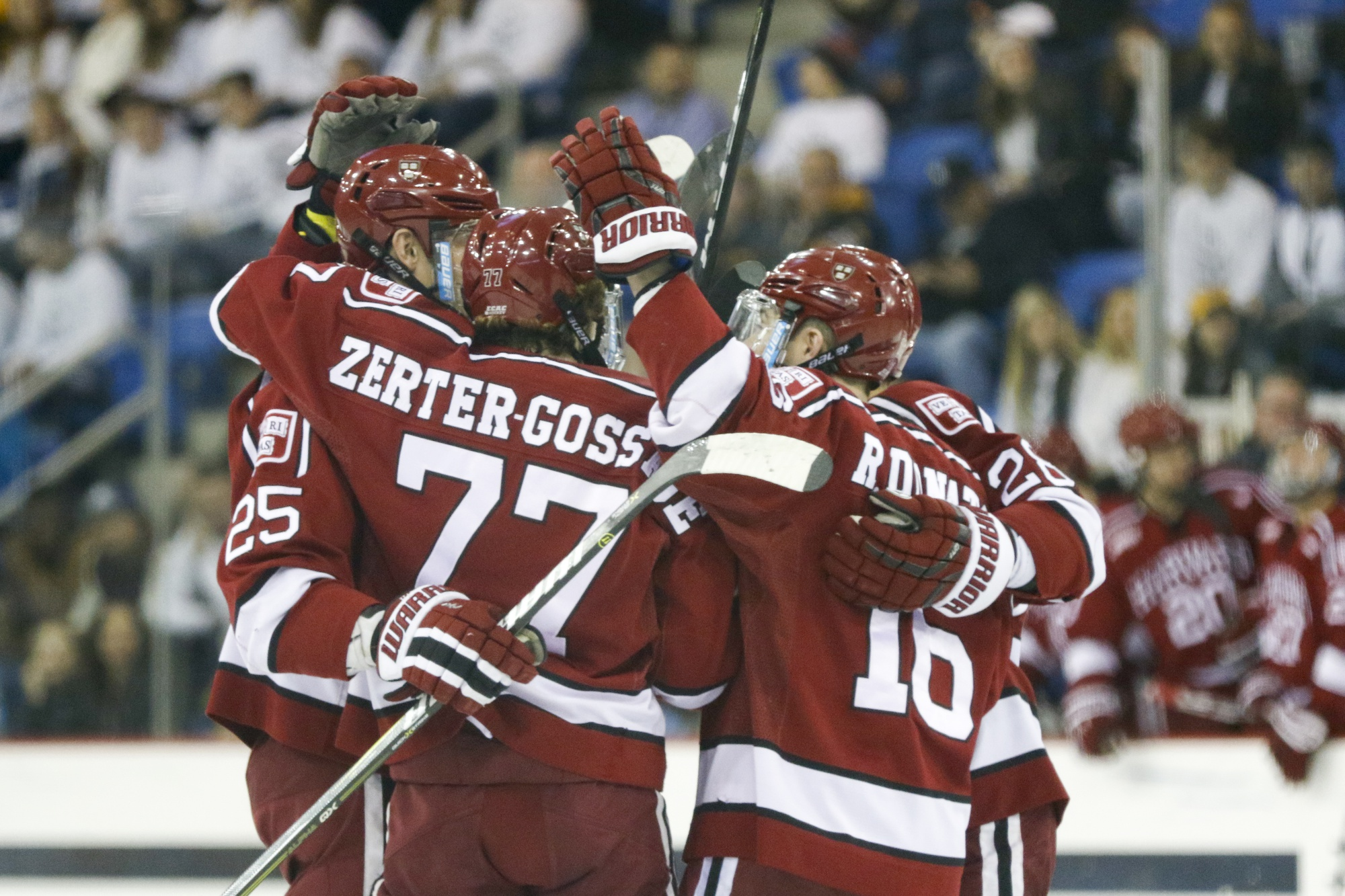 The 2017-2018 edition of the men's hockey squad finished with a record of 15-14-4, and 11-8-3 in conference play.