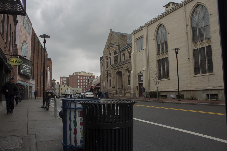 A box of severed animal heads was found on Church Street, near Harvard Yard, on March 31.