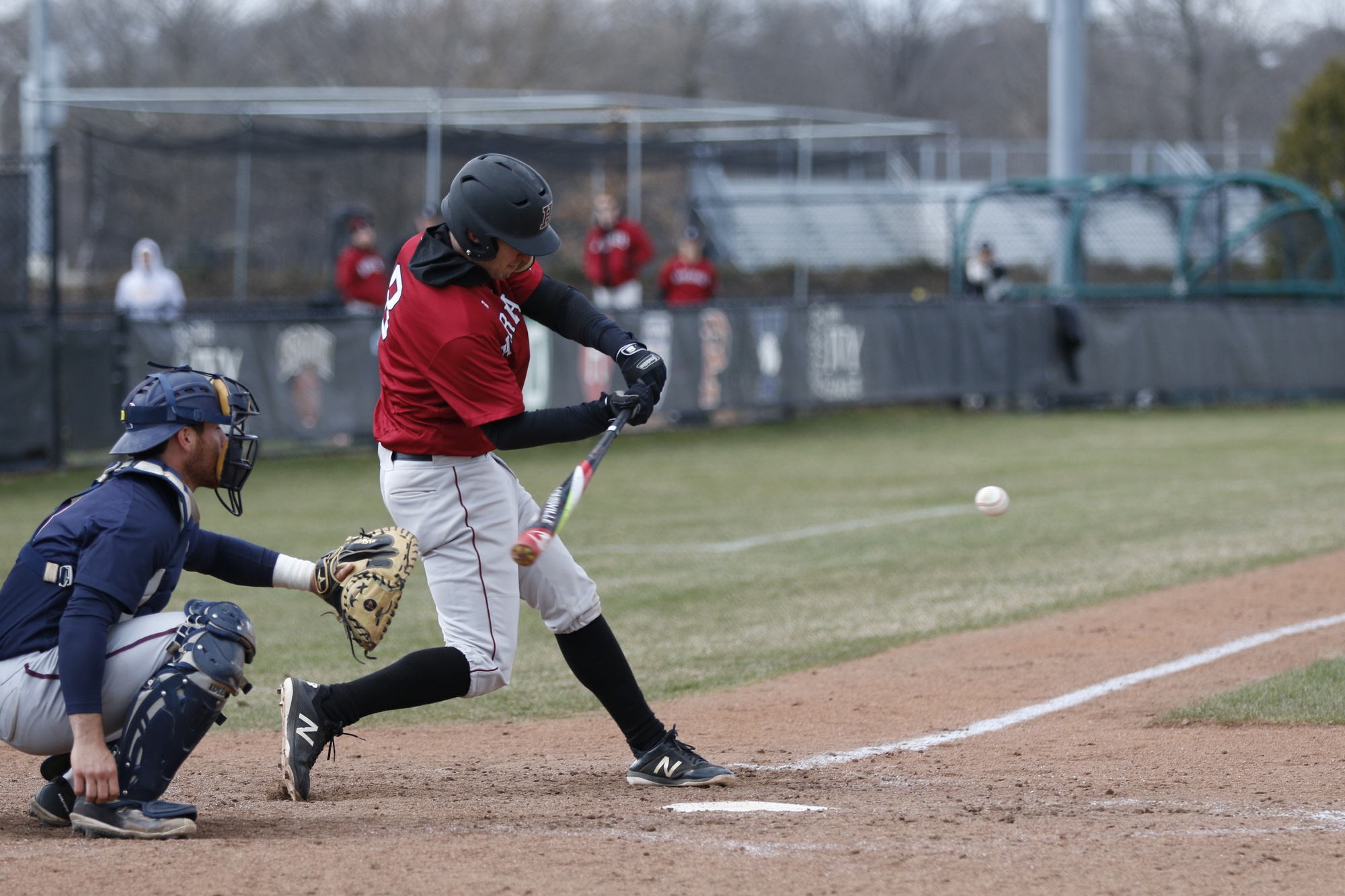 Harvard mounted a strong comeback Wednesday afternoon, rallying for eight runs after a six-run first inning for the Northeastern.