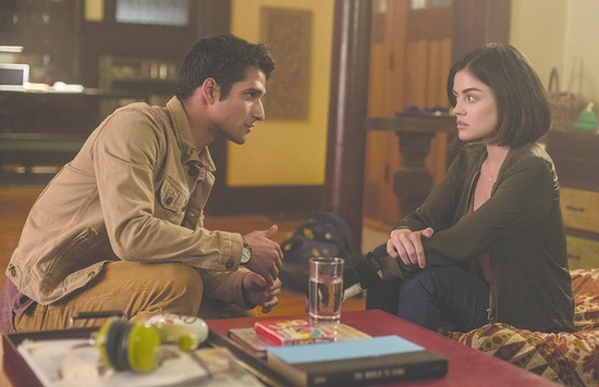 Lucy Hale and Tyler Posey