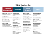 PBK Junior 24 Announcement