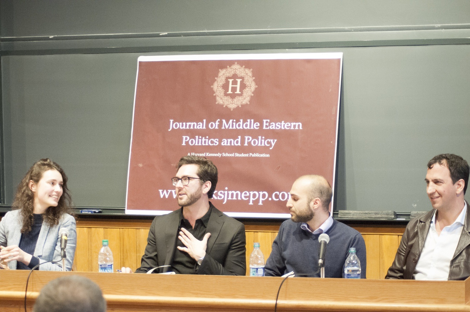 In Sever Hall, four prominent journalists named Michael Petrou, Jonathan Guyer, Izzy Finkel, and Sharaf al-Hourani spoke about the moral responsibiliies and challenges of reporting on Middle East news.