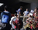Fanfare at the Activities Fair